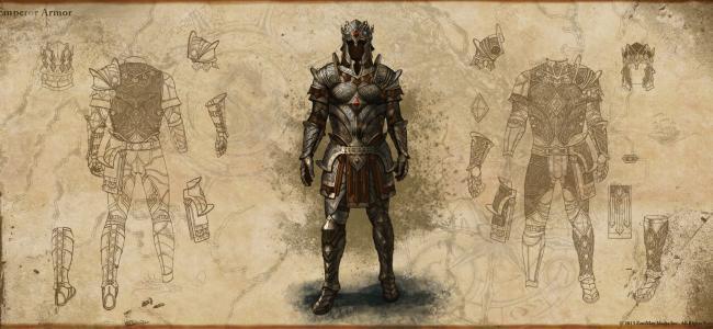 Elder Scrolls Online, Emperor's Armor, Zenimax, Bethesda Softworks