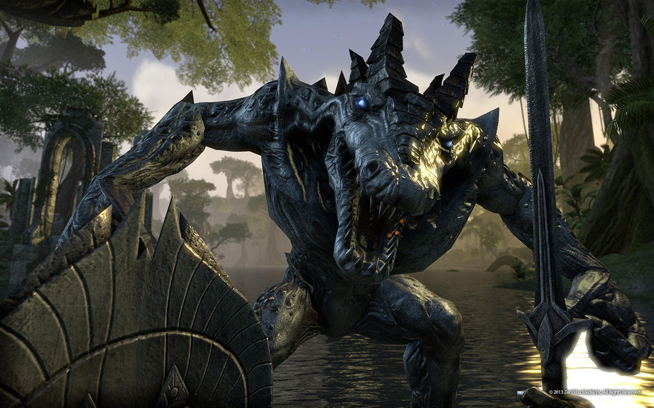 skyrim tamriel online how to connect