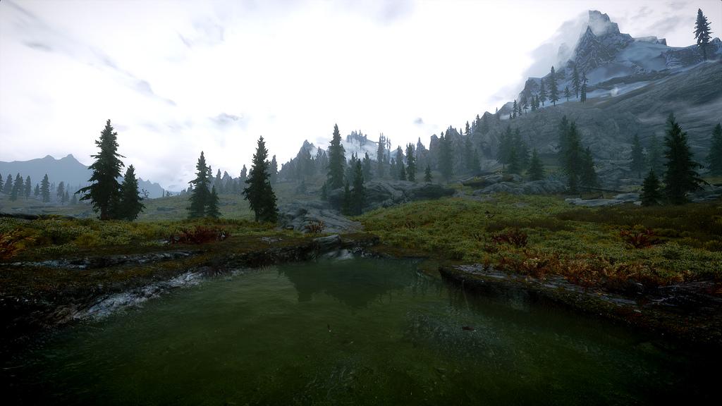 Skyrim Lake