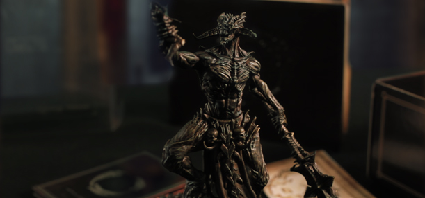 Statue of Molag Bal from The Elder Scrolls Online Imperial Edition