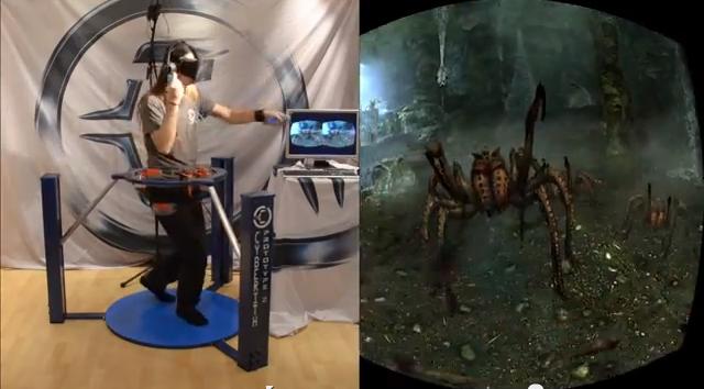 Skryim VR Rig
