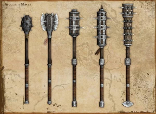 crafted maces