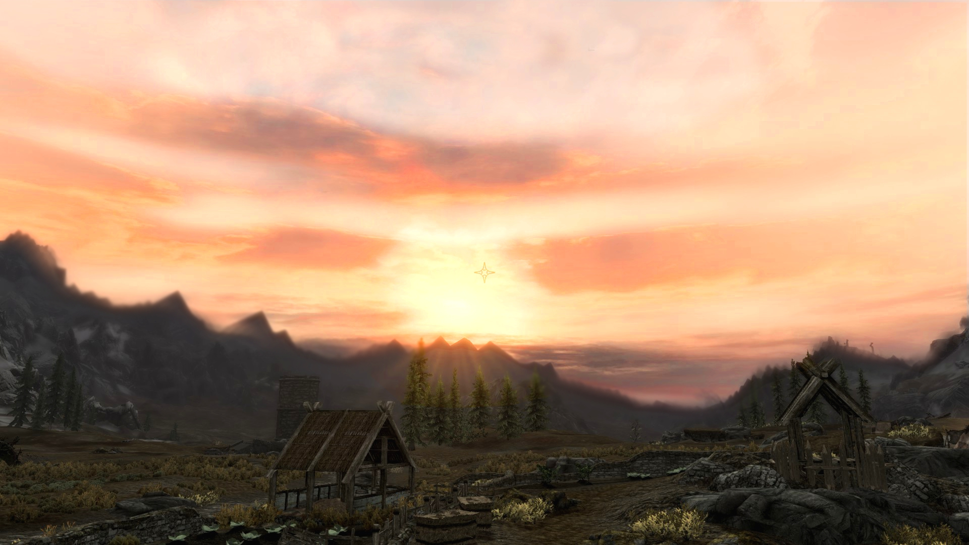 Climates of Tamriel Sunset