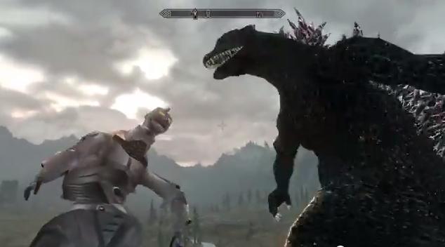 Godzilla Skyrim