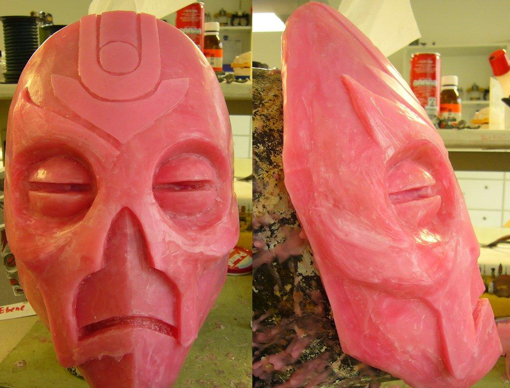 dragon_priest_mask_mold__unfinished__by_corroder666-d4vod28