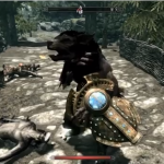 Funny Skyrim Glitch: Bizarre Twisted Manwolf