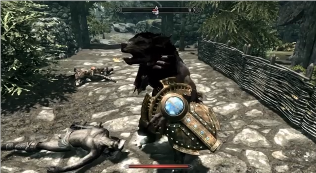 Skyrim Half Werewolf