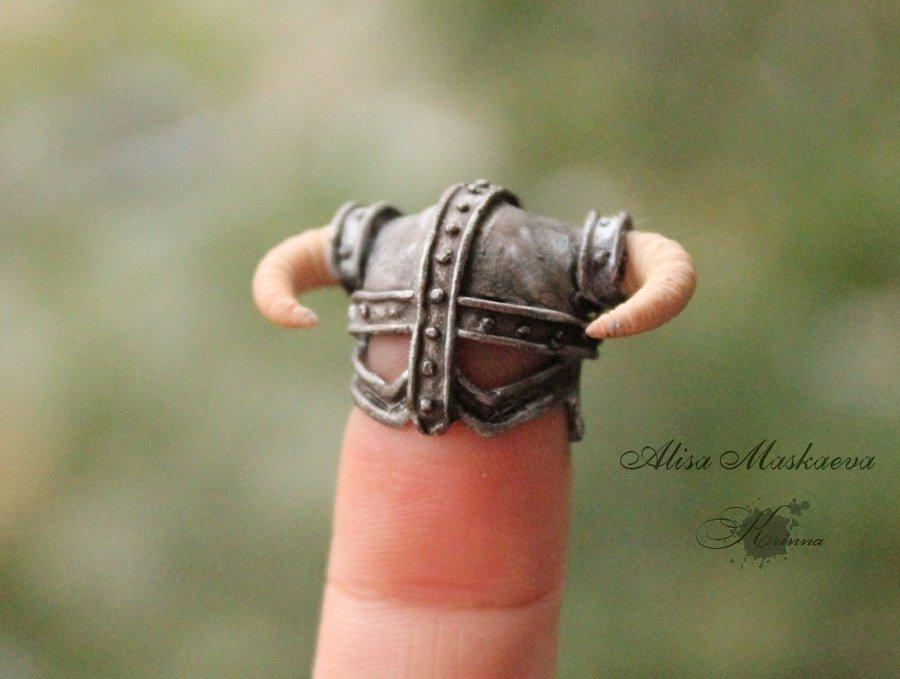 Tiny Dragonborn Helmet