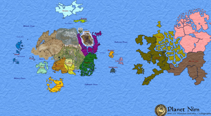 Plan Your Trip to The Elder Scrolls\' Nirn With This Interactive Map