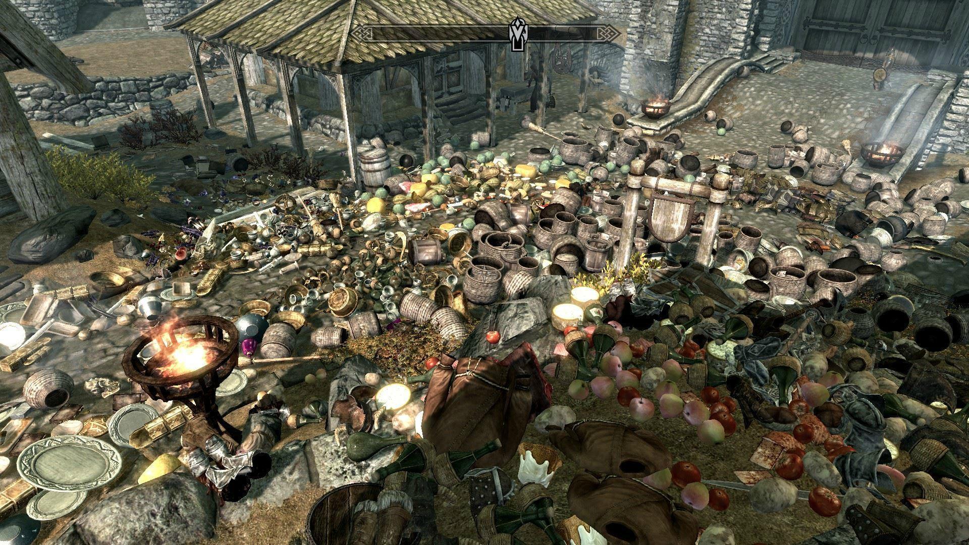 Huge Pile of Junk
