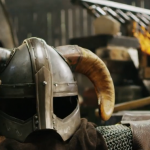 The Blacksmiths Who Made This Helm Must Have Forged a Lot of Iron Daggers