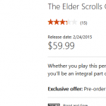 Microsoft Lists Feb. 24 release Date for The Elder Scrolls Online on Xbox One