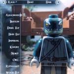 Lego Maniac Reimagines Skyrim's Opening
