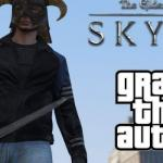 New Mod Video Merges Worlds Of Skyrim And GTA