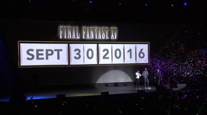 Final fantasy 15 release date in Perth