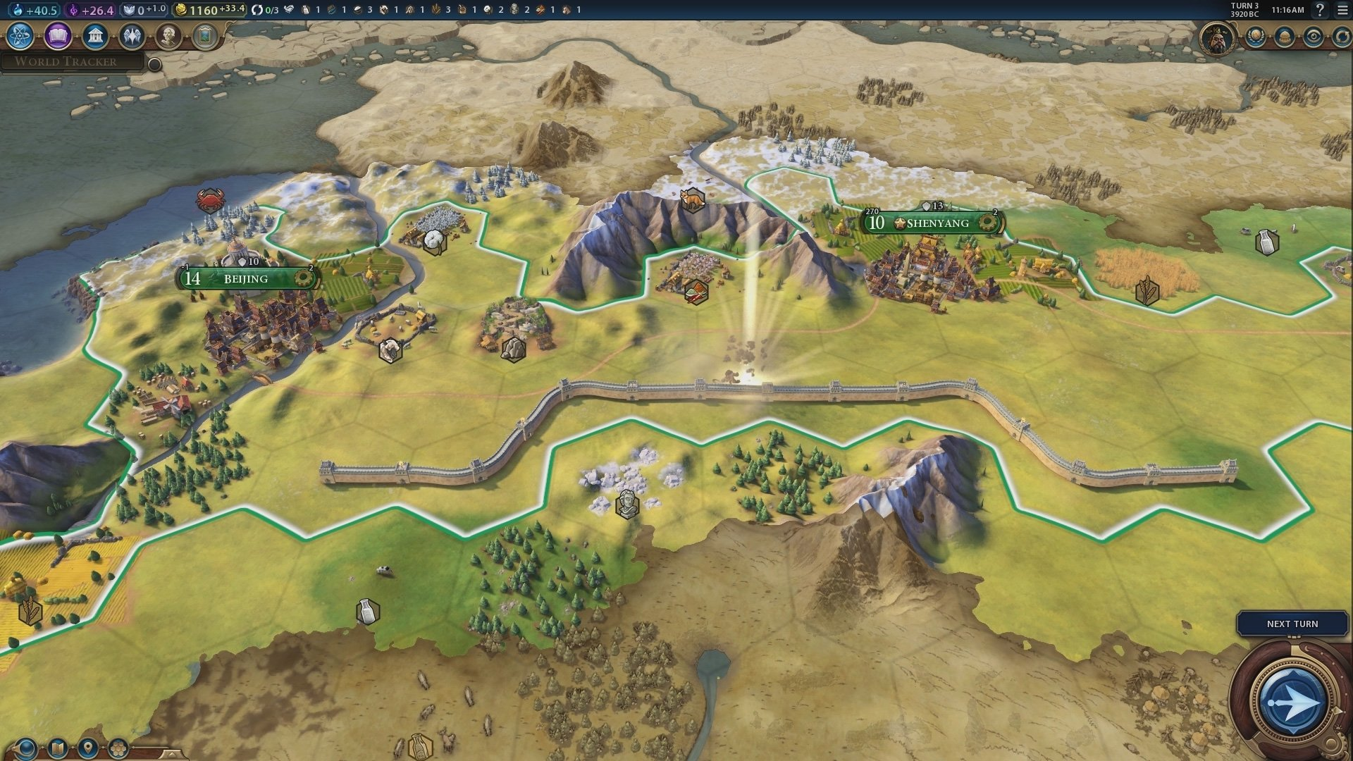 How To Build Great Wall In Civ